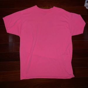 Fruit of The Loom Plain Pink T